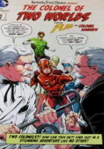 DC Comics The Colonel of two Worlds #1 KFC Importada