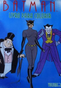 Batman Livro para Colorir Volume 3