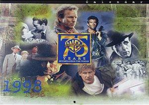 Warner Bros 75 Years Calendário Comemorativo  1998
