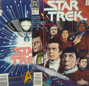 Star Trek #17 e #18 Importada