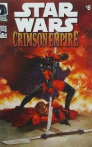 Star Wars Crimson Empire #6 Hasbro Comic Two-Pack Importada