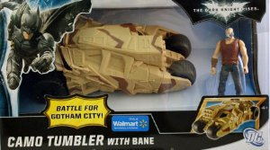 Mattel DC Batman Camo Tumbler With Bane Exclusivo Wallmart