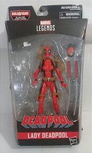 Marvel Legends Lady Deadpool  Sem Peça BAF