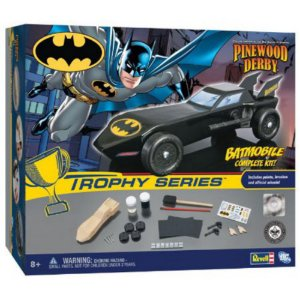 Revell DC Batman Trophy Series Batmobile Pinewood DerbY Model Kit