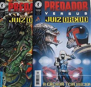 Predador Versus Juiz Dredd - Ed. Mythos