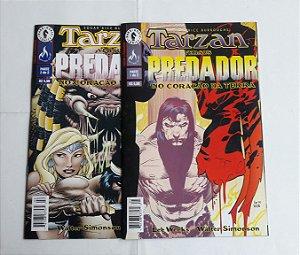 Tarzan Versus Predador - Ed. Mythos
