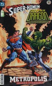 Super-Homem e Savage Dragon - Ed. Abril