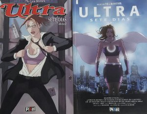 Ultra - Sete Dias Vol 1 e Vol2 - Ed. Pixel