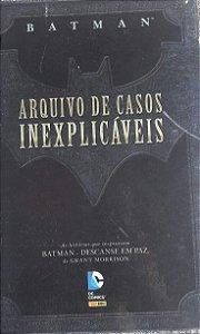 Batman Arquivo de Casos Inexplicáveis - Ed. Panini