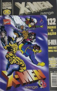 X-Men Mangá #1 - Ed. Mythos