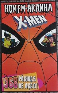 Homem-Aranha e X-Men Mangá Encadernado #1 - Ed. Mythos