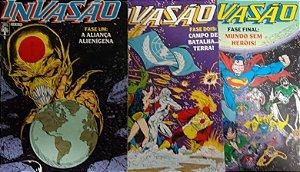 Invasão Mini-Série em 03 Edições Formatinho Abril