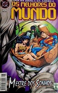 Liga da Justiça América Os Melhores do Mundo #26 Formatinho Abril