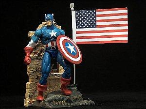 Marvel Legends Série 1 Capitão América - Não Lacrado