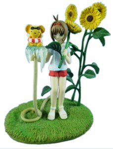 Ensky Clamp Card Captors Sakura Figure Collection 2 Sakura Kero-Chan