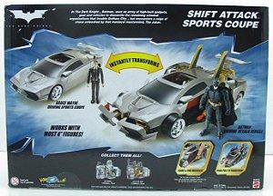 DC Batman TDK Shift Attack Sports Coupe (Carro Esporte de Ataque)