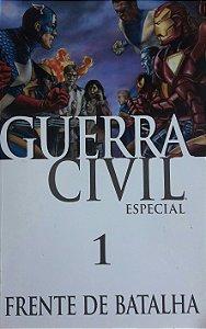Guerra Civil Especial #1 Frente de Batalha - Ed. Panini