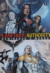Planetary/Authority - Dominando O Mundo - Ed. Pixel
