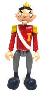 Bandai 2014 DC Teen Titans Puppet King Figure Loose