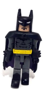 Miniatura Minimates Batman Uniforme Preto e Cinza Loose