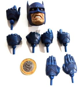 Sideshow DC Cabeça Batman e Mãos 1/6