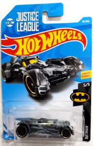 Hot wheels DC Liga da Justiça Batmóvel 1/64