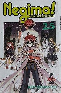 Negima! #25 - Ed. JBC