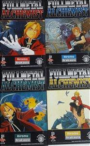 Fullmetal Alchemist 1a Série #1 ao #12 (12 Edições) - Ed. JBC