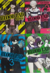 Blood Lad #1 ao #7 (7 Edições) - Ed. Panini