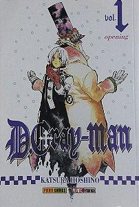 D. Gray-Man #1 - Ed. Panini