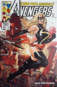 The Avengers Annual #10 Importado Re-Edição Marvel Legends