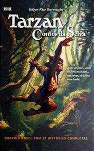 Tarzan Contos da Selva Pixel Capa Dura
