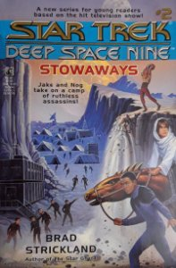 Star Trek Deep Space Nine Stowaways #2 Importado