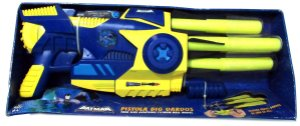 By Kids DC Batman Bravos e Destemidos Pistola Big Dardos Estilo Nerf