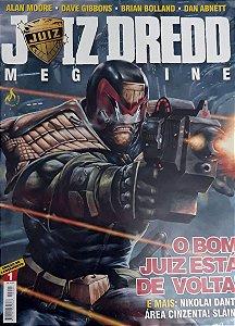 Juiz Dredd Megazine #01 Editora Mythos