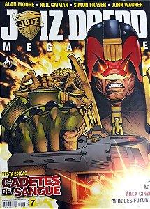 Juiz Dredd Megazine #07 Editora Mythos