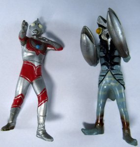 Bandai HG Ultraman Jack e Baltan Set com 02 Gashapon