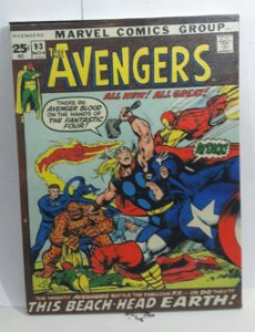Quadro Avengers Comics
