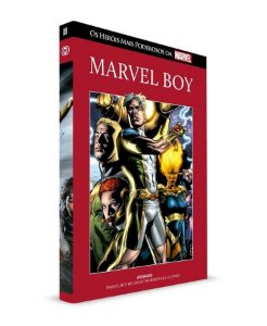 Marvel Boy - Salvat - Capa Dura