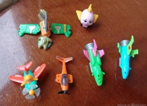 Kinder Ovo Miniaturas - Lote 3