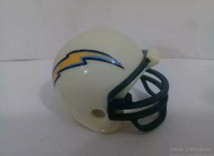 Nfl Los Angeles Chargers - Mini Capacete