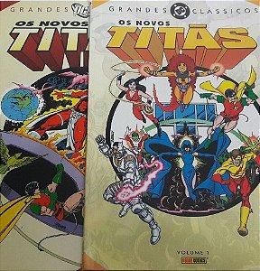 Grandes Clássicos DC Novos Titãs #1 e #2 Capa Cartonada