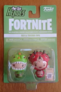 Fortnite: Rex e Tricera Ops - Pint Size Heroes - Funko