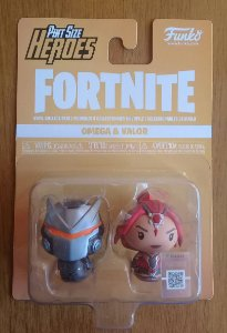 Fortnite: Omega e Valor - Pint Size Heroes - Funko