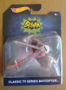 Hot Wheels Classic TV Series Batcopter (Batcoptero) Escala 1/50