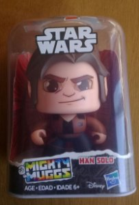 Mighty Muggs Star Wars Han Solo Hasbro