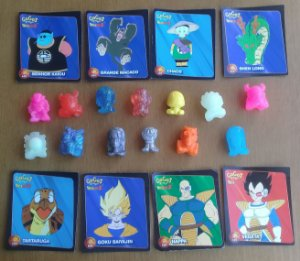 Gogos Dragon Ball Z - Lote com 13 Gogos