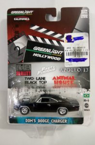 Greenlight Dom´s Dodge Charger 1/64 Velozes e Furiosos