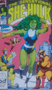 The Sensational She-Hulk #12 Importada