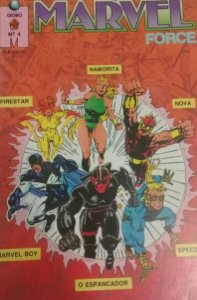 Marvel Force #4 - Ed. Globo